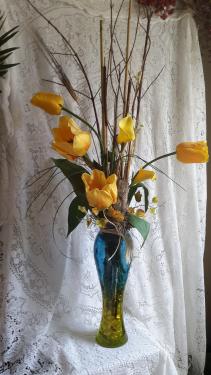 Get well flowers from garden gate gift flower shop local north cheer up fresh or silk mightylinksfo