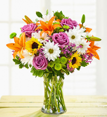 Cheerful Blooms Arrangement