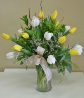 CHEERFUL BLOOMS Arrangement of Flowers