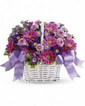 Cheerful Bouquet  Basket