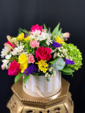 Cheerful Box Arrangement