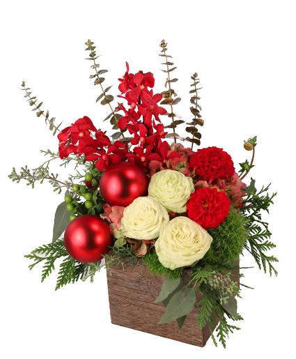 Cheerful Comfort Christmas Arrangement