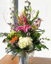 Cheerful Day Vase Arrangement