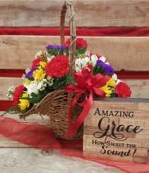 Cheerful Delight Basket