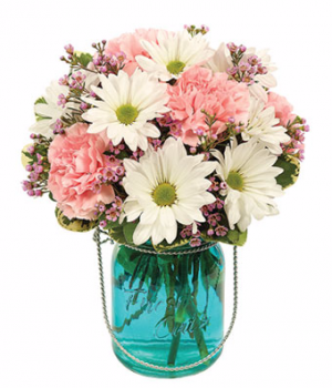 Cheerful Expressions Arrangement in Winston Salem, NC | RAE'S NORTH POINT FLORIST INC.