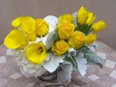 Yellow Posies Floral Design