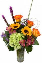Cheerful Spring Vase Arrangement