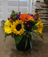 Cheerful Surprise Flower Arrangement