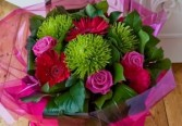 Cheerful Valentine European Hand Tied Bouquet