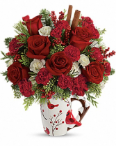 Cheerful Wishes Christmas Arrangement