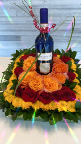 Cheers! Premium Flower Arrangement Roses, Anniversary, Thanksgiving, Christmas, Birthday.