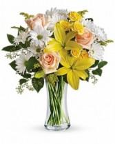 Cheers to You Vased standard or deluxe in Cedar Park, Texas | Bloomin' Across Texas