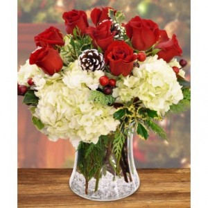 Cheer's to the Holiday   in Hesperia, CA | ACACIA'S COUNTRY FLORIST