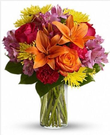 The Bright & Cheery Vase  Vase