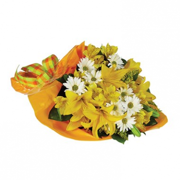 Cheery & Bright Hand Tied  Bouquet