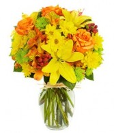Cheery Harvest Flower Arrangement