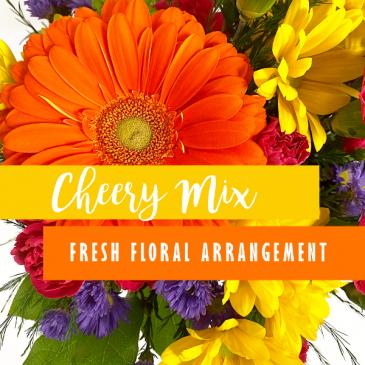 Cheery Mix Fresh Floral Arrangement