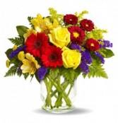 Cheery Today Vase Arrangment