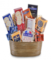 Cheese and Cracker Delight Basket