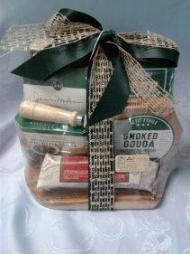 Cheese Gift Basket Christmas