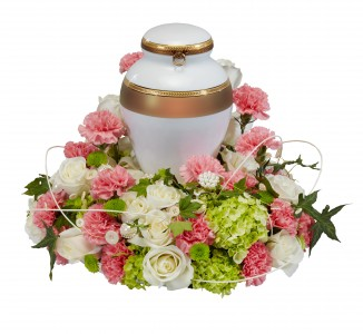 Cherished  Encircling Urn Arrangement