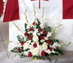 Cherished Farewell Red and White