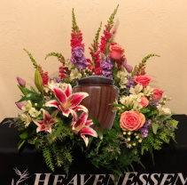 Cherished Moments Urn Piece Arrangement (Urn Not Included)