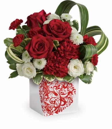 Cherished Love Bouquet All-Around Floral Arrangement