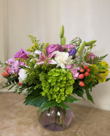 Cherished Love Mixed floral