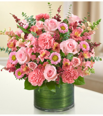 Cherished Memories™ All Pink Sympathy Arrangement