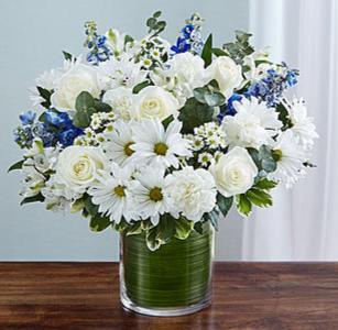 Cherished Memories™ Blue & White Arrangement