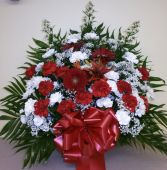 CHERISHED MEMORIES Sympathy  Basket