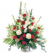 Cherished Moments Funeral Basket