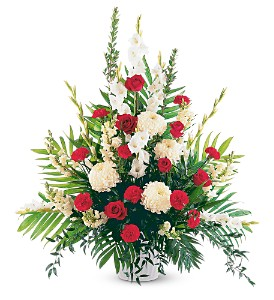Cherished Moments Funeral Basket