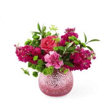 Cherry Blossom Birthday! metallic vase