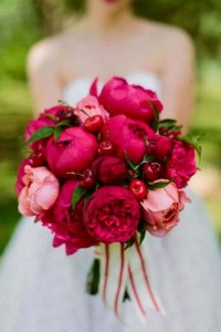CHERRY BLOSSOM BOUQUET HAND TIED BOUQUET