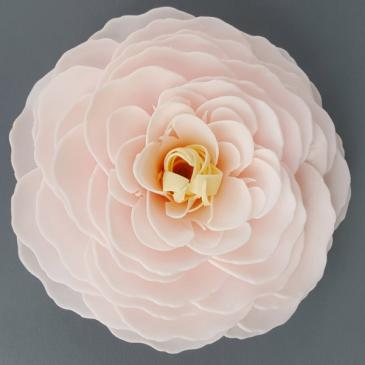 Cherry Blossom Rose Soap Flower