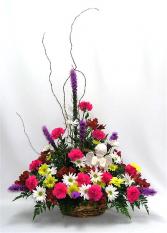 Cherub Fresh Flower Tribute