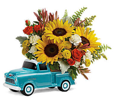 Chevy Pick up Bouquet Father's Day favorite