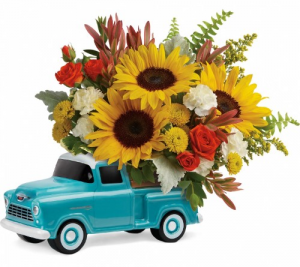 Chevy Pickup Bouquet  in Fort Collins, CO | D'ee Angelic Rose Florist