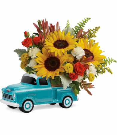 Chevy Pickup Bouquet  T18F100B