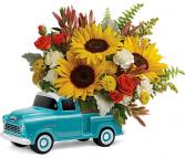 Chevy Pickup Teleflora Bouquet