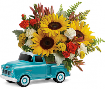 Chevy Pickup Teleflora Bouquet