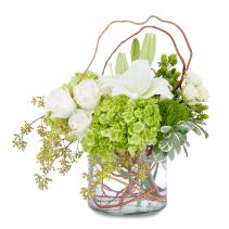 Chic and Styled Arrangement