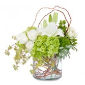Chic and Styleda Arrangement in Burnt Hills, NY   THE COUNTRY FLORIST