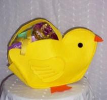 Chic Easter Basket An Eggcellent Selection!
