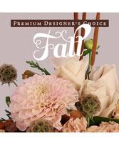 Chic Fall Florals Premium Designer's Choice