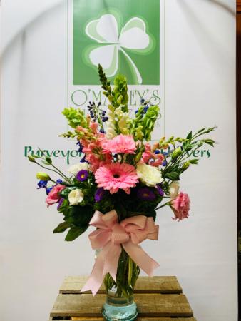 Chic Mom Spring Vase