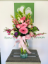 Chic with roses  Spring Vase