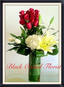 Chic Roses Roses in Baytown, TX | Black Orchid Florist LLC